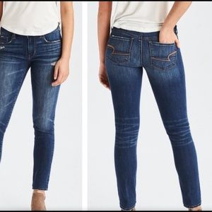 American Eagle Skinny Stretch jeans girls 0